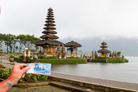 Bali. Pura Ulun Danu Bratan