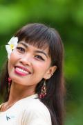 Jeune fille de Lombok