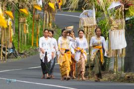 Bali. Sidemen