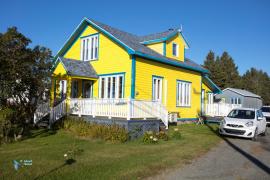 De la couleur en Gaspésie !