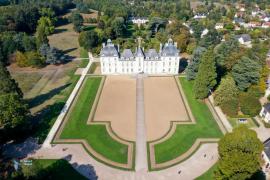 Château de Cheverny. Tintin !