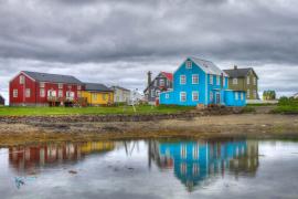 Flatey. Islande.