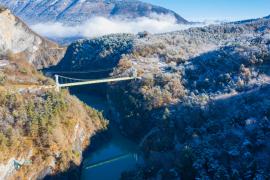 Le Trièves et le pont de Brion