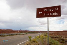 Vallée des dieux