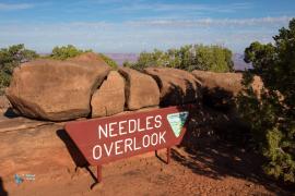 Needles overlook. Moins connu