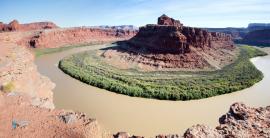 Le Colorado à Canyonlands.