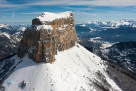 Vercors. le Mont Aiguille